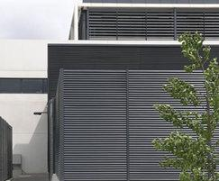 Italia-100 cladding and screening