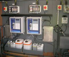 ProAm ammonia monitor with turbidity pre-mounted
