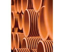 Polysewer PVCu structured wall pipes for gravity sewers