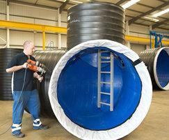 RIDGISTORMAccess prefabricated manholes