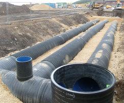 Ridgidrain fabricated manholes and catchpits