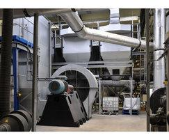Thermal oxidiser, thermal energy plant, Leather
