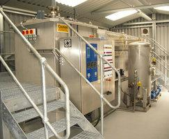 DAF treating effluent from a bacon factory