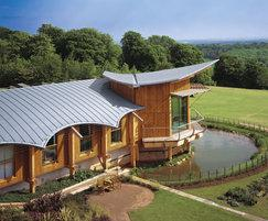 Rheinzink standing seam roof coverings