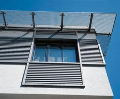 Rheinzink corrugated cladding panel
