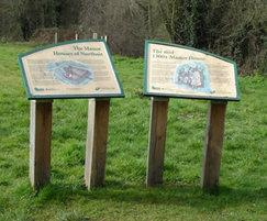 Interpretation panels, London Borough of Ealing