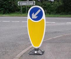 geo keep left traffic sign | marshalls street furniture