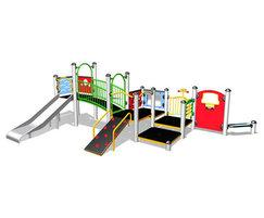 Shop and Slide modular play system
