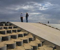 Geocell provides a soil stabilisation solution