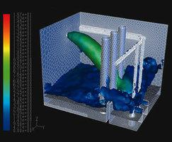 Water and wastewater CFD simulation