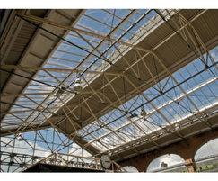 Traditional patent glazing - Chester Railway Station
