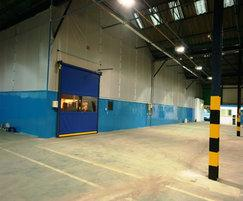 Fastflex door incorporated into Flexiwall partition