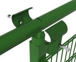 Spectator rails detail